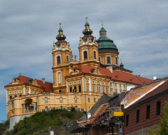 Benedictine Abbey at Melk in Austria
